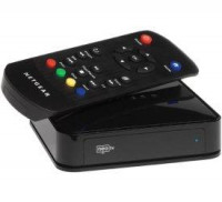 NETGEAR NTV200 Reproductor de Streaming, Reproduzca en su TV Netflix, Vudu, Cinemanow, Youtube, N300 Hasta 1080 HD